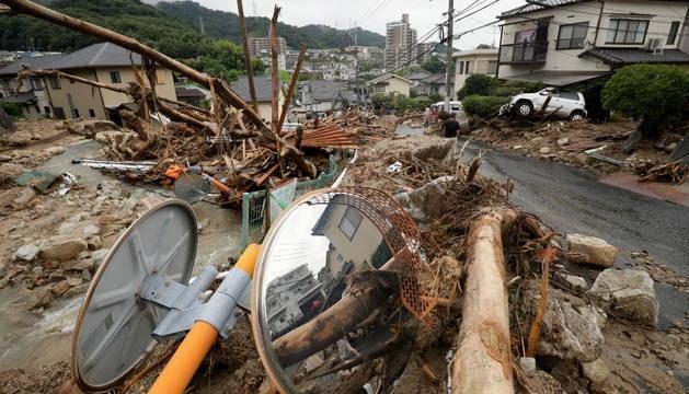Las lluvias en Japón dejan ya 81 muertos y a más de 1.500 personas incomunicadas