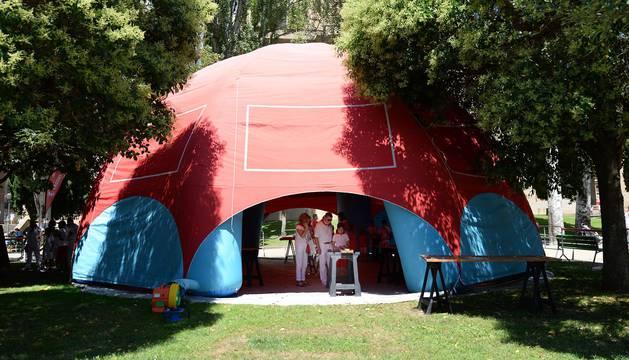 Los Sanfermines también ofrecen diferentes espacios para que los más pequeños puedan disfrutar sin parar de jugar