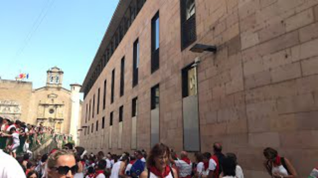 Encierro txiki de San Fermín 2018