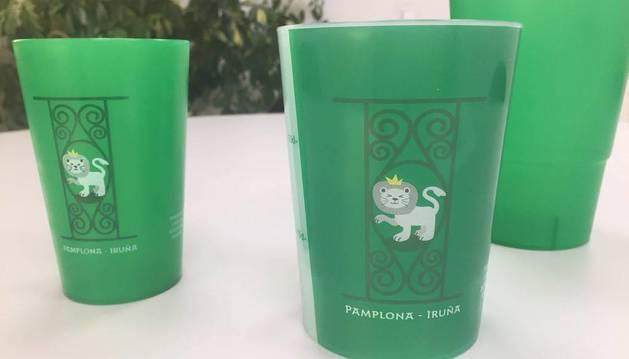 Más de 600.000 vasos reutilizables puestos en circulación en Sanfermines