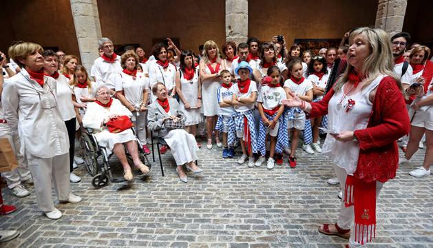 foto de Entrega del premio Festa a las concejalas pioneras de la democracia.