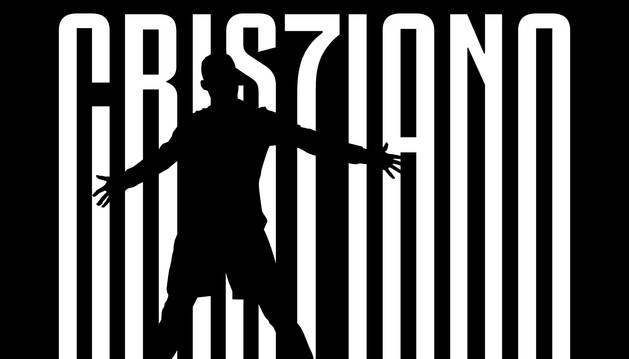 Imagen oficial del fichaje de Cristiano Ronaldo por la Juventus