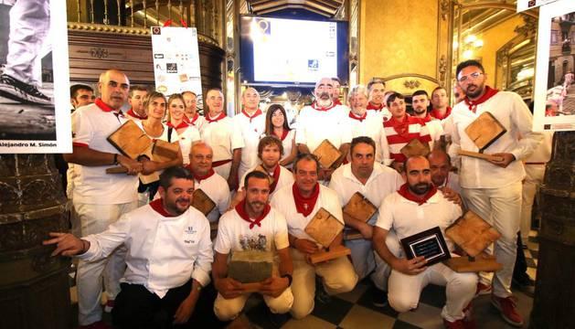 Entregados los premios del VIII Concurso de Fotografía del Encierro