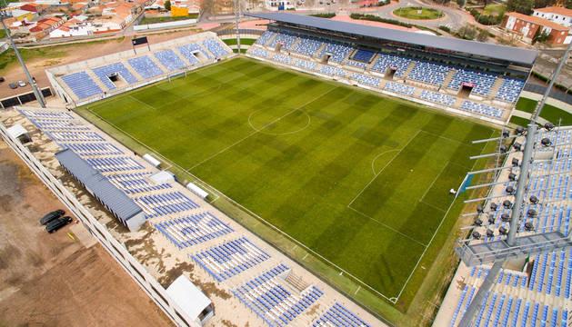 Campo de fútbol de Puertollano.