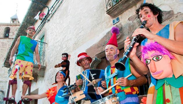 Los Titiriteros de Binefar (Huesca) tiene más de 30 años de carrera a sus espaldas y casi 40 países visitados.