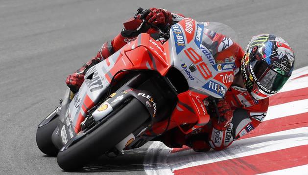 Lorenzo, el más rápido en los libres
