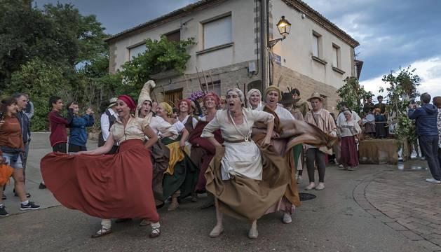 La localidad de Tierra Estella celebró este viernes, 13 de julio, los tradicionales actos dentro de la Semana de la Brujería 2018.