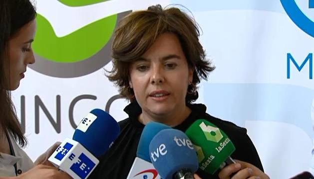 Un vídeo contra la candidatura de Santamaría empaña la recta final de la campaña del PP