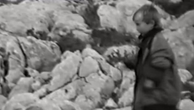Fotograma en el que se ve a Luka Modric con 5 años