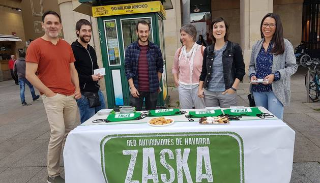 Zaska trabaja para desmontar prejuicios racistas y xenófobos en Navarra