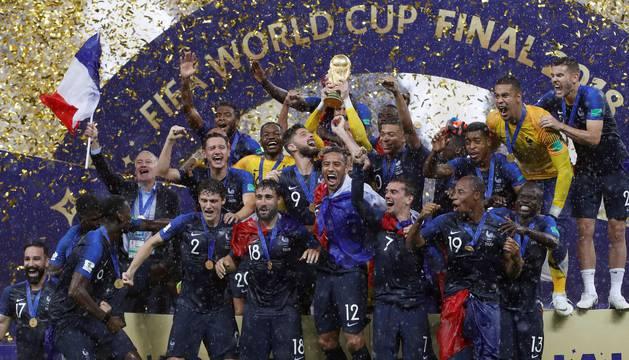 Galería de fotos de la final entre Francia y Croacia
