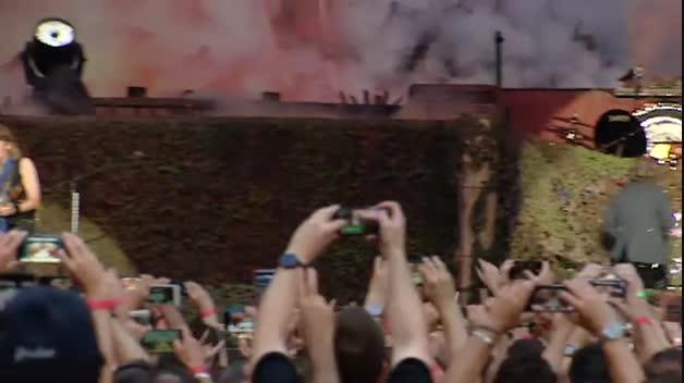 Iron Maiden hace vibrar a 52.000 personas en el Wanda Metropolitano