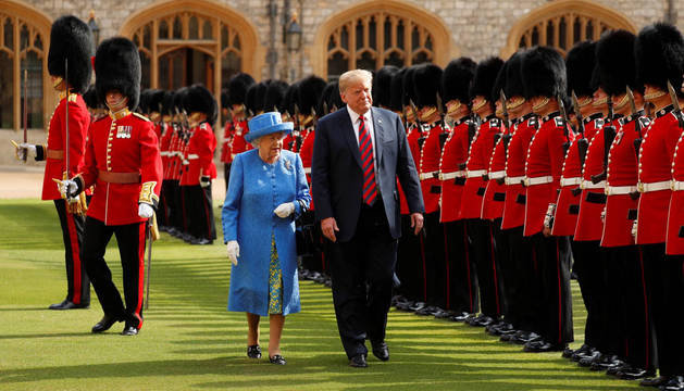 El príncipe Carlos y el príncipe Guillermo no quisieron reunirse con Trump
