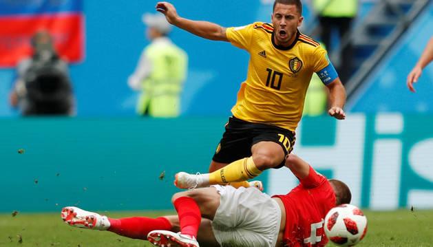 Hazard lidera la nómina de jugadores que salen más revalorizados del Mundial