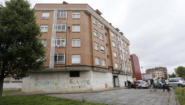 foto de Edificio en el que se ha producido el asesinato.