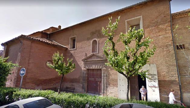 Exterior del Centro de Salud Tudela-Oeste.