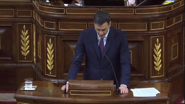 Pedro Sánchez presenta su plan de gobierno en el Congreso