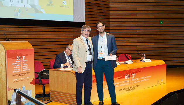Bernardo Abel Cedeño, del CHN, distinguido como mejor residente de Geriatría del año