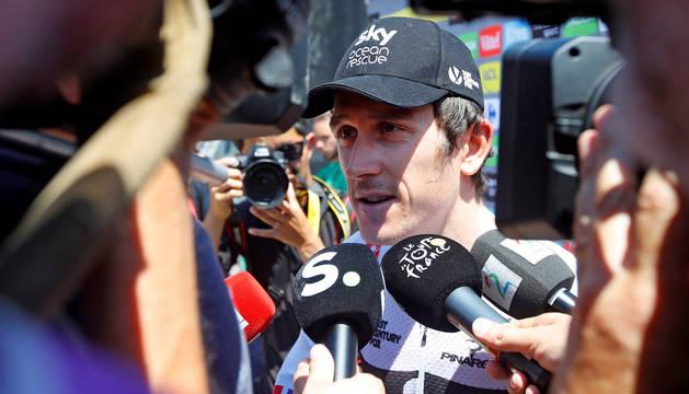 Geraint Thomas, nuevo líder del Tour.