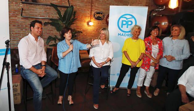 Santamaría cuenta con ventaja y asegura que seguirá en política