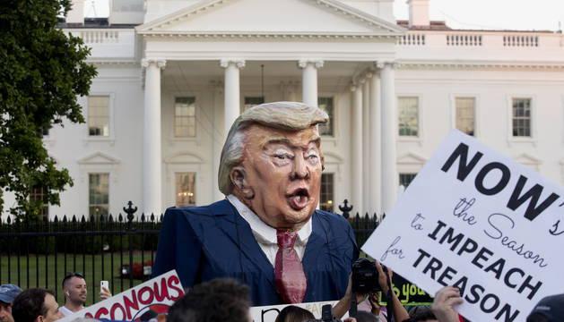 Trump mantiene viva la confusión sobre su postura ante la injerencia rusa