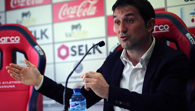 Braulio Vázquez, en Tajonar.