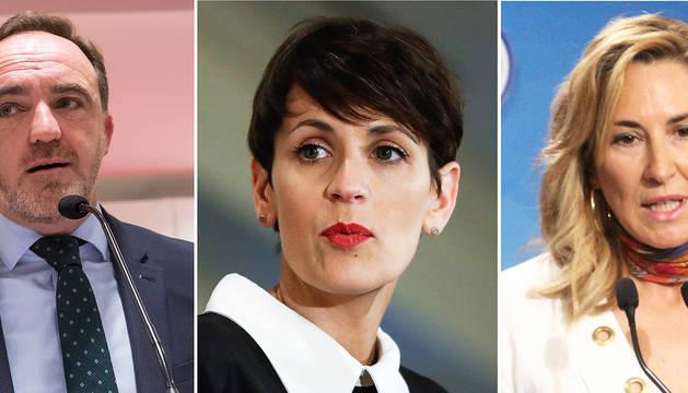 """UPN, PSN y PP acusan a Barkos de manipular y de """"autocomplacencia"""""""