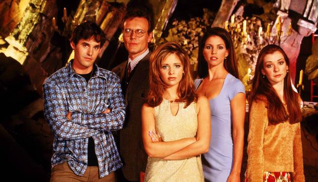 Elenco de 'Buffy, cazavampiros'