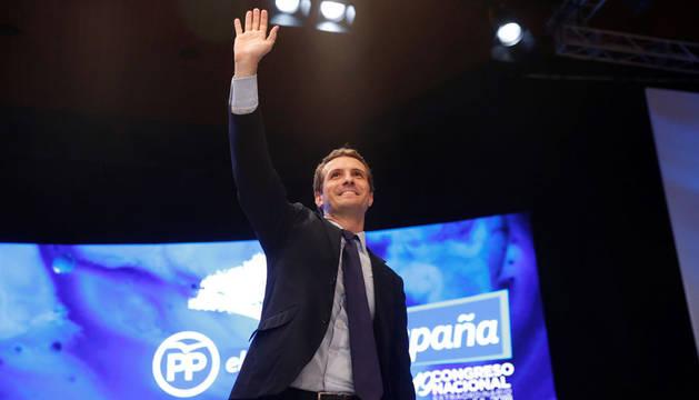 Reacciones de los políticos navarros a la victoria de Pablo Casado en el PP