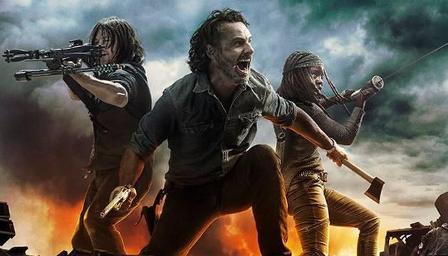 Imagen promocional de 'The Walking Dead'.