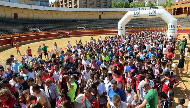 VI Carrera del Encierro de Tudela organizada por 'Diario de Navarra'