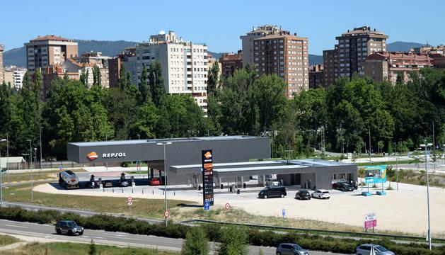Abierta una nueva gasolinera en la avenida de Navarra