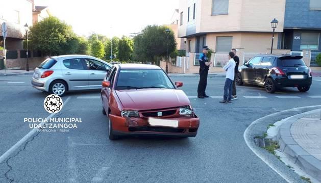El suceso tuvo lugar en la calle Juan de Tarazona, de Pamplona