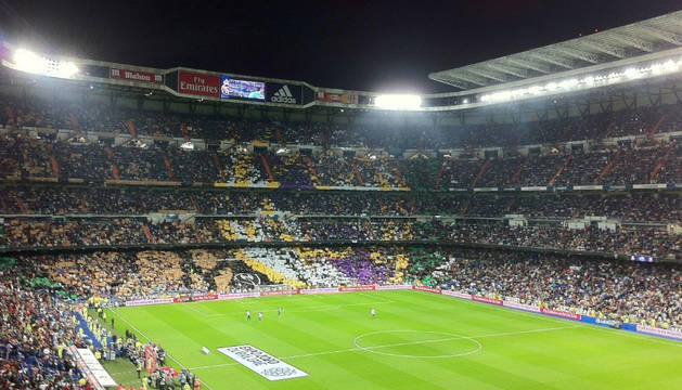 Imagen del Santiago Bernabéu.