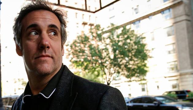 Michael Cohen, exabogado del presidente de Estados Unidos, Donald Trump