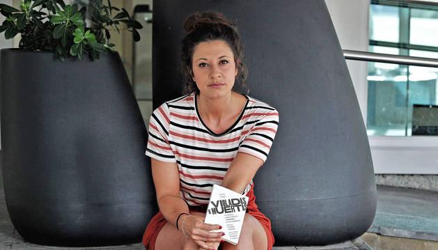 Isabel Valdés, en la presentación de su libro, 'Violadas o muertas'.