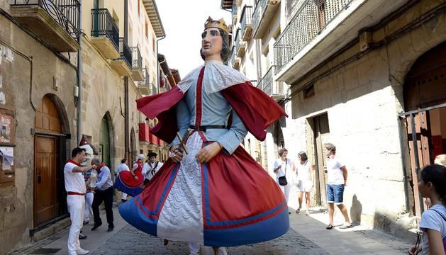 Fiestas de Puente la Reina. 25 de julio