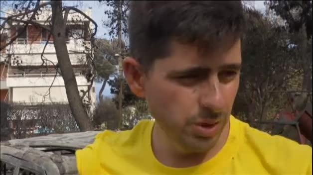 Los incendios de Grecia dejan 74 muertos confirmados y 200 heridos