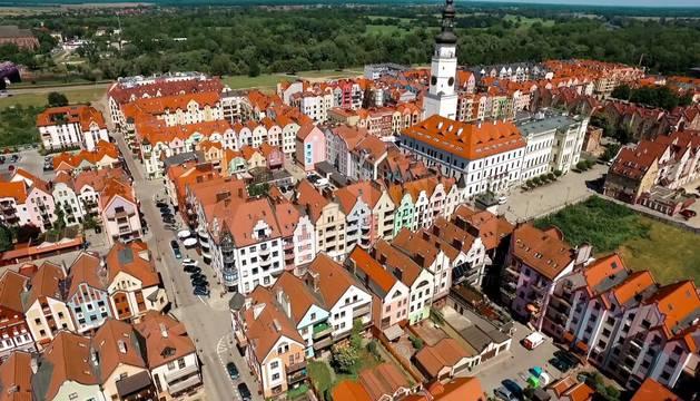 Glogów, ciudad polaca donde ha sido hallada la bomba