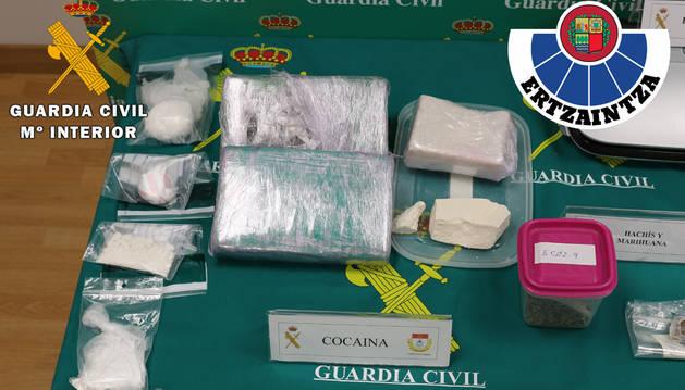 Desarticulada una red dedicada la venta de droga en Navarra y País Vasco