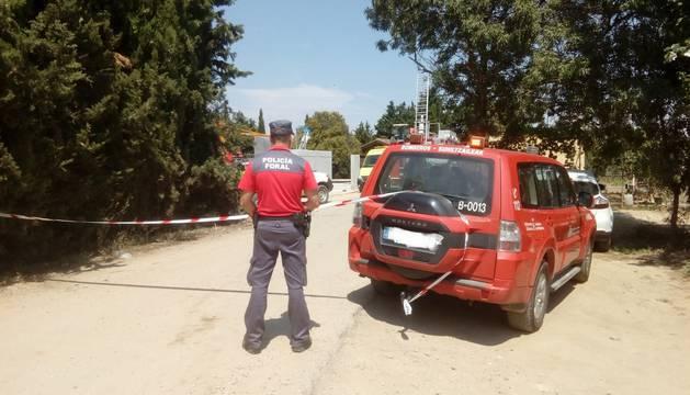 Mueren dos trabajadores en un accidente en la depuradora de Corella
