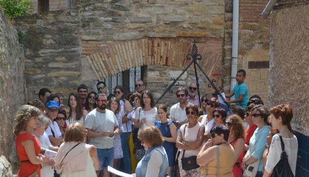 El barrio medieval de Mendavia, en su primera visita guiada