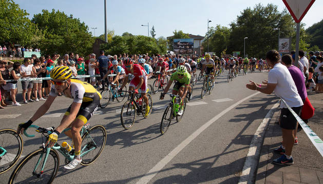 La Vuelta a España de 2016 pasó por la localidad navarra de Dantxarinea.