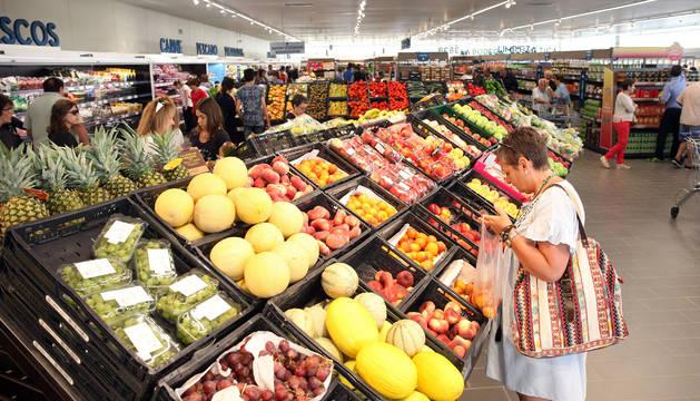 Los navarros gastan en alimentos y bebidas más de 1.500 euros al año