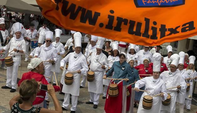 Bayona cierra sus fiestas con la celebración del Día de Pamplona
