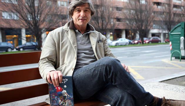Fernando Tirapu, en Pamplona en 2007.