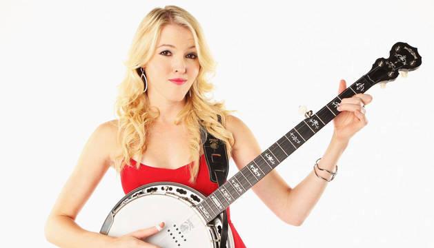 La cantante de country Ashley Campbell.