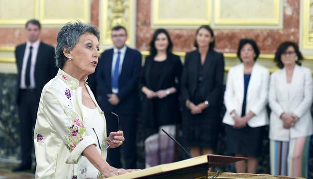 Rosa María Mateo se compromete a recuperar la credibilidad de RTVE