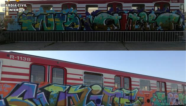 Dos detenidos por realizar grafitis y dañar el Patrimonio Histórico
