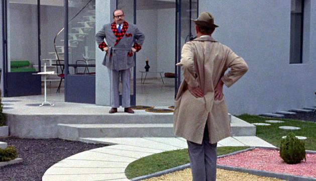 Un fotograma de la película de Jacques Tati  'Mi tío'.